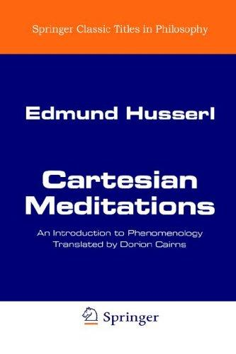 Download Cartesian Meditations