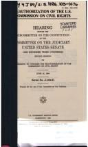 Download Reauthorization of the U.S. Commission on Civil Rights