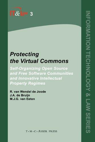 Protecting the virtual commons by R. van Wendel de Joode