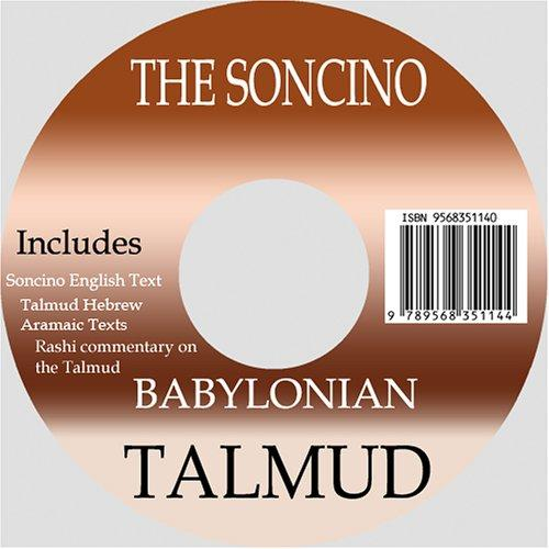 Soncino Hebrew/English Babylonian Talmud (16 Tractates) by Isidore Epstein
